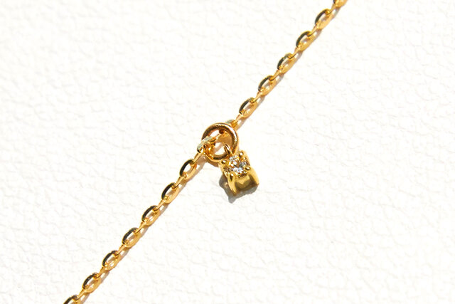 オプションのチェーン部分のダイヤモンド