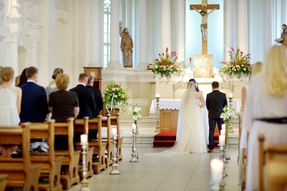 教会で行う結婚式
