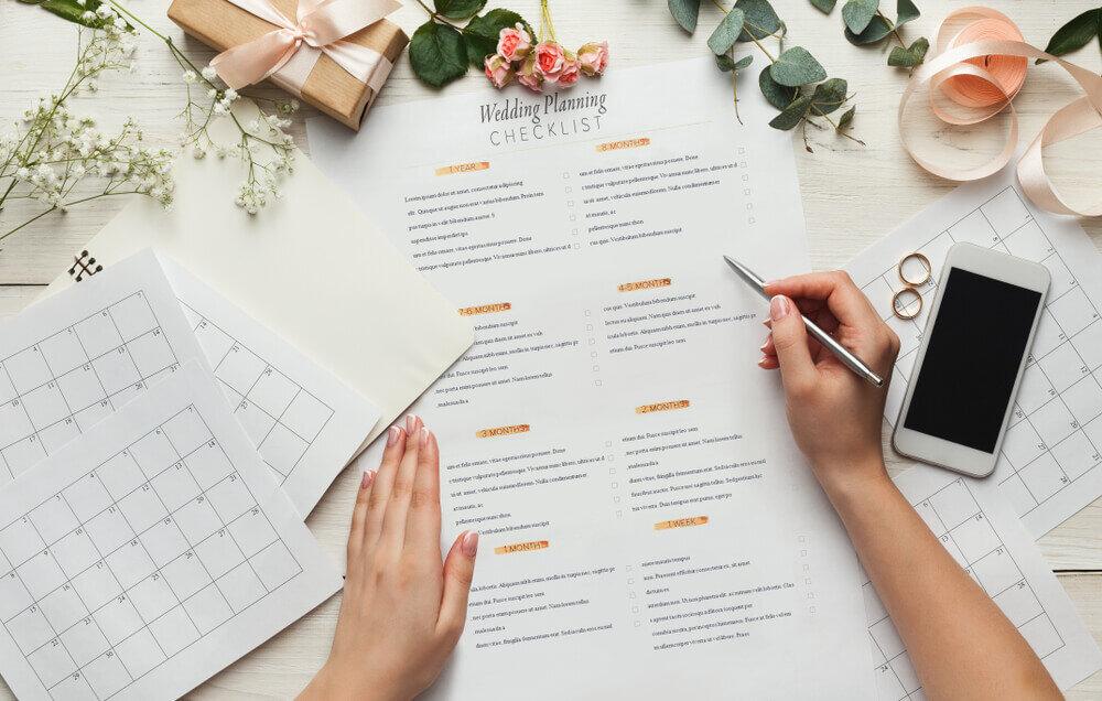 結婚式のチェックリスト