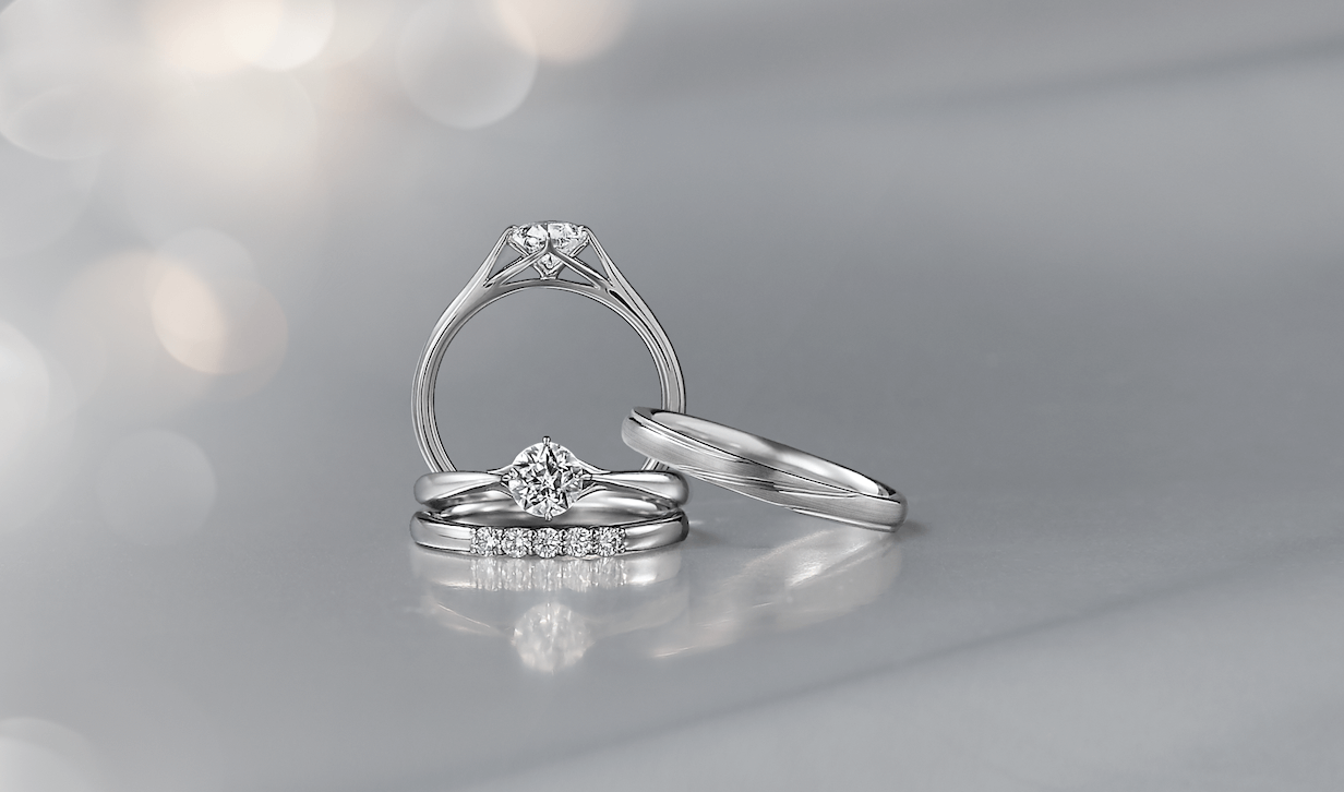 フェスタリアの婚約指輪と結婚指輪
