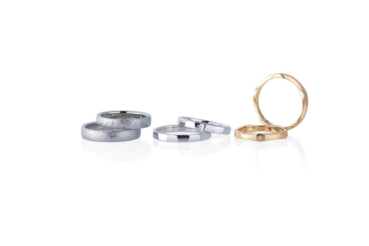 並べられたフェスタリアの指輪