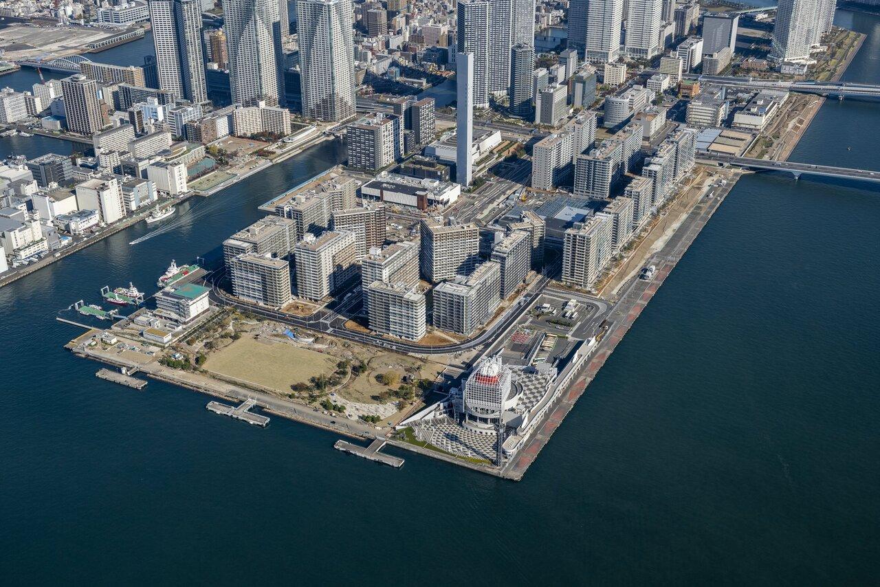 """東京五輪で揺れる湾岸 """"晴海フラッグは買い""""も マンション業界は縮小産業に"""