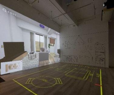 日鉄興和不/「横濱関内」で新感覚の体験型モデルルーム 大画面VRなどで全間取り対応