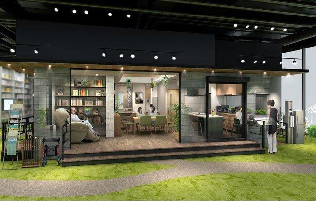 「健康にくらし続けられる家」清潔、高齢化、健康テーマ/パナソニックが大阪にオープン