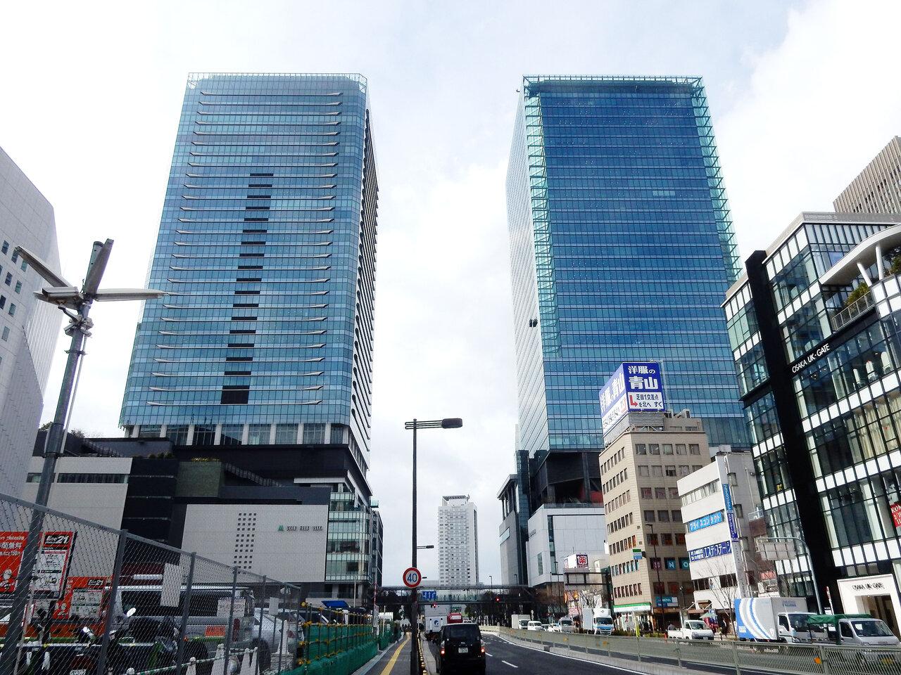 訪日客効果、剥げ落ち/公示地価 最高値、梅田返り咲き 大阪20%超下落が続出