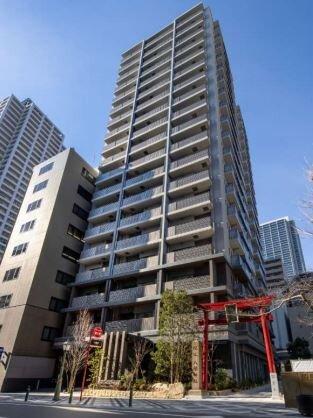神戸小野八幡神社と一体開発物件が竣工/三菱地所レジ、19階建て