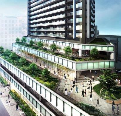 「ライオンズ&プレミストタワー35」 岐阜最大335戸モデル公開 官民一体複合開発の中心地