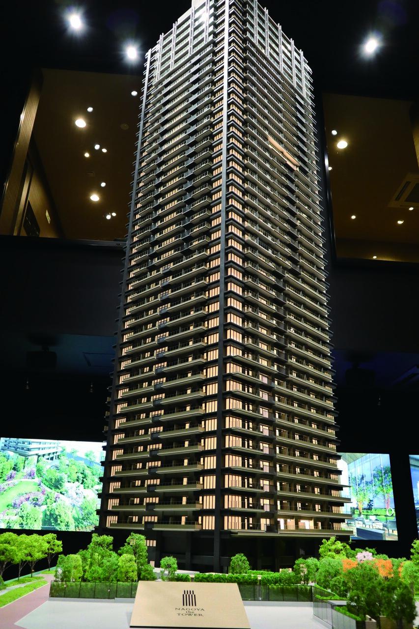 総合地所など6社/「いきもの共生事業所認証」も取得 名古屋中心にタワマン 億ション物件、最高層は4.5億円