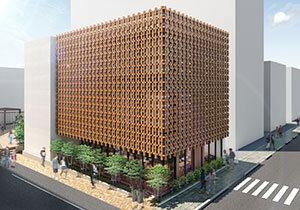 住友林業/木造耐火構造のキャンパス 「上智大学15号館」着工 国産材で脱炭素社会へ