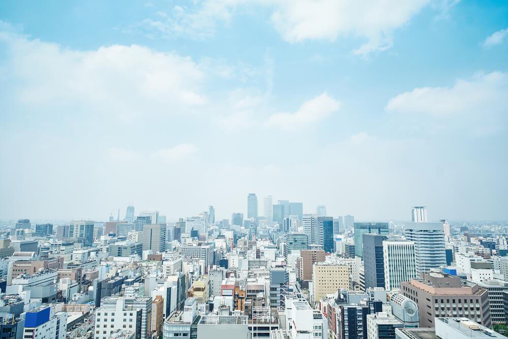 名古屋のビル