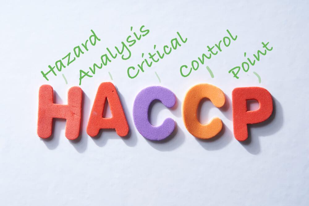 HACCPの説明ボード