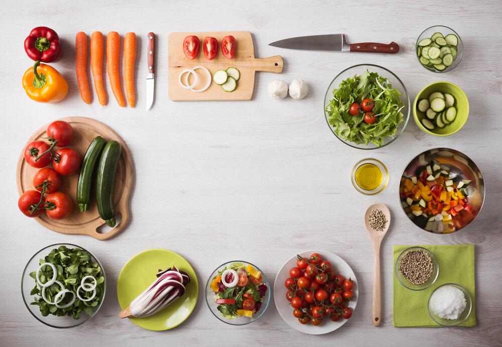 料理に使う食材