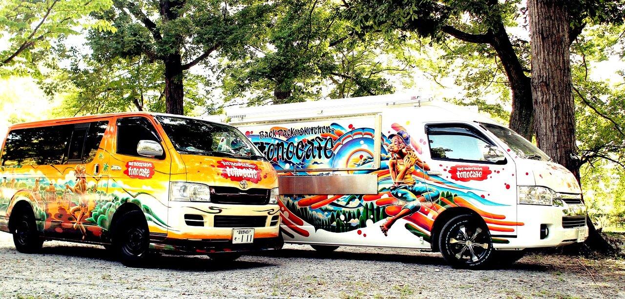移動販売車/移動カフェ『tono cafe』公式サイト