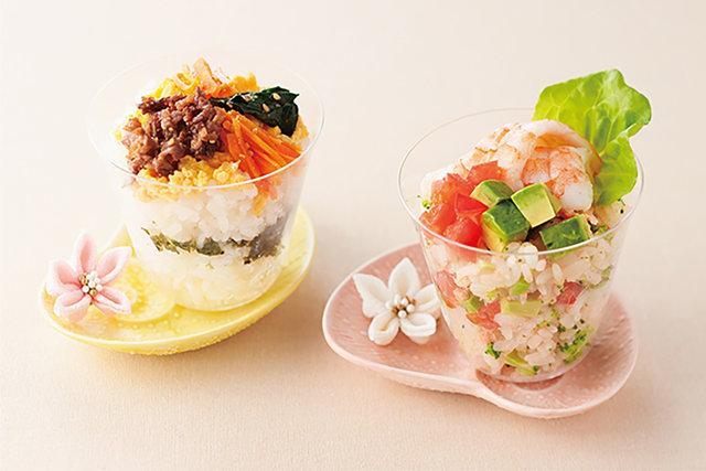 酢飯を使わずカップ寿司〈ハレの日ごはん③〉