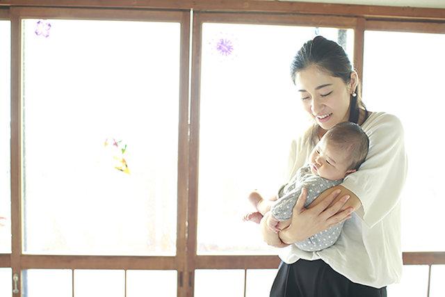 赤ちゃんもママも、心地よい抱っこをマスターしよう 第1話