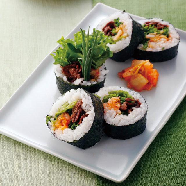 牛肉の巻き寿司(太巻き)