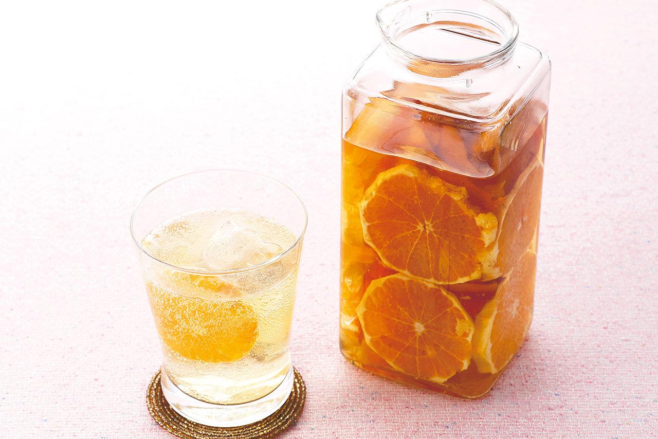 自家製オレンジブランデー