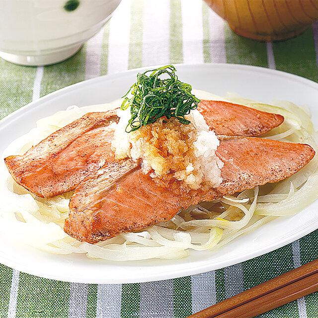 あっさりさっぱり鮭ソテー