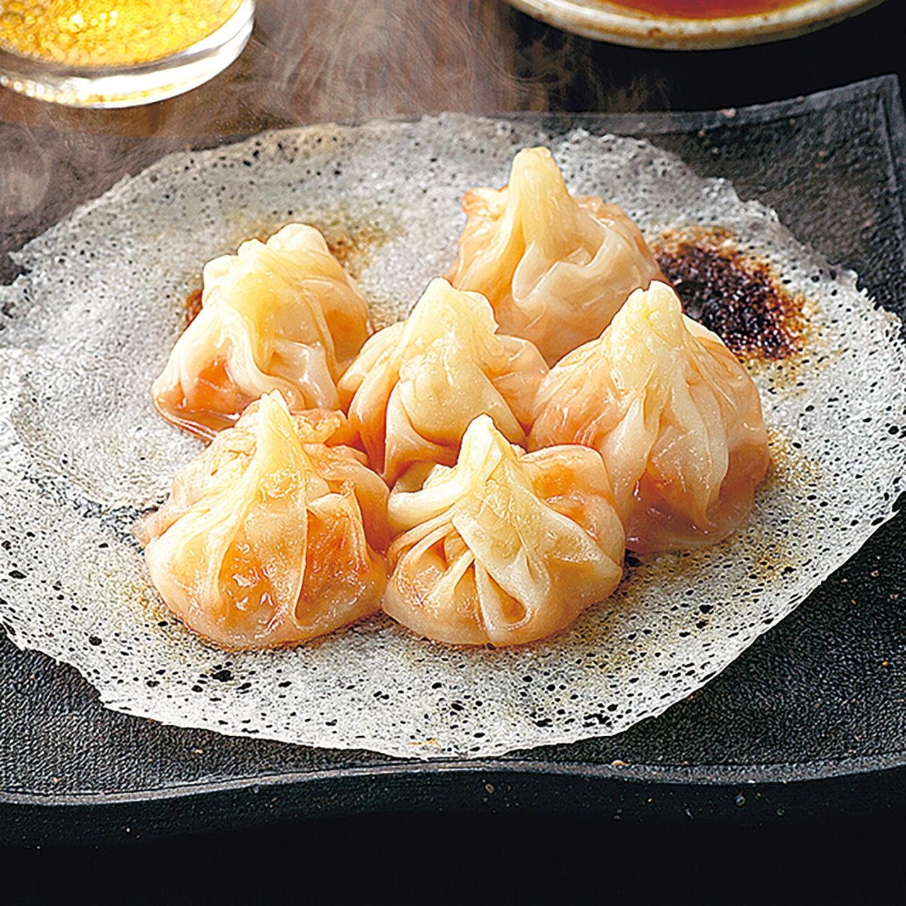 エビチリ風 海鮮餃子