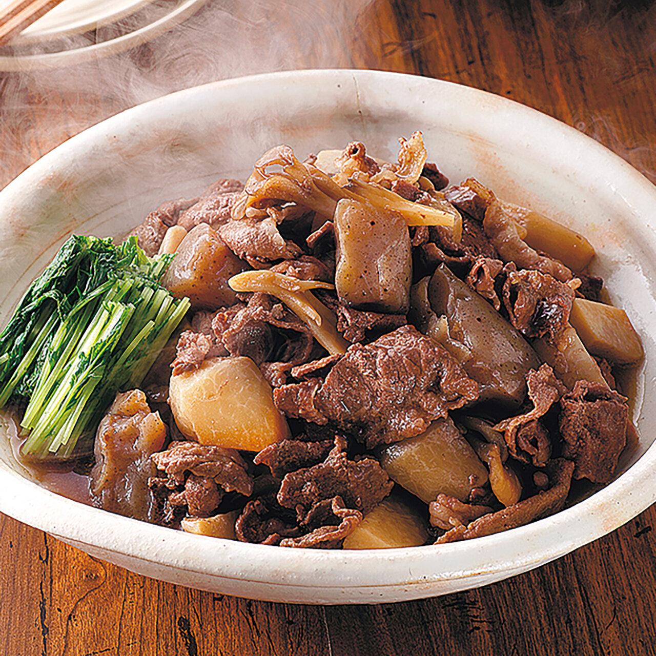 牛肉のコク旨芋煮