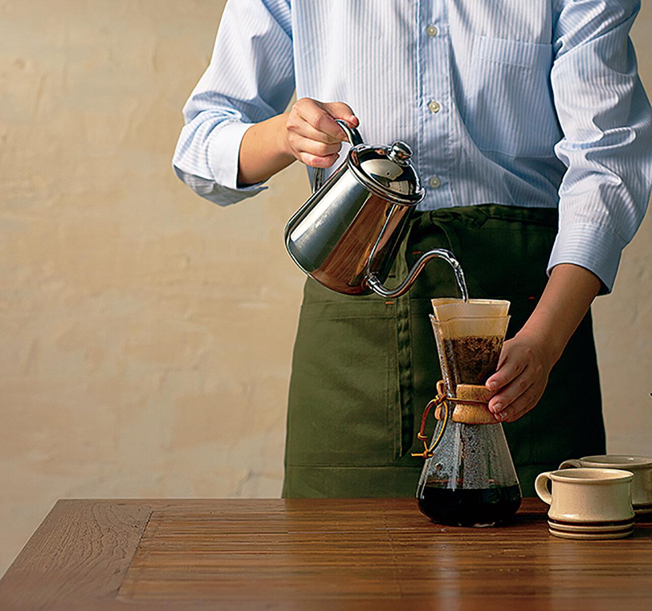 おいしいコーヒーの淹れ方の基本