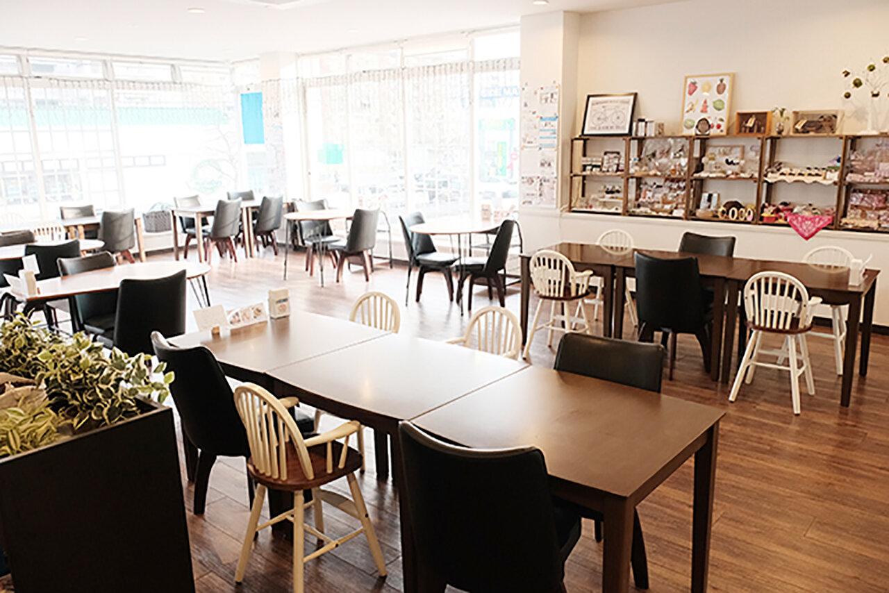 【北九州市若松区】広~いキッズスペース付きの親子カフェ「café nonta(カフェノンタ)」