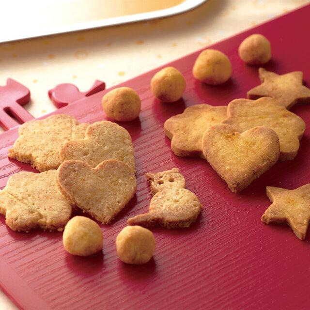 【アレルギー対応】にんじん&かぼちゃのクッキー