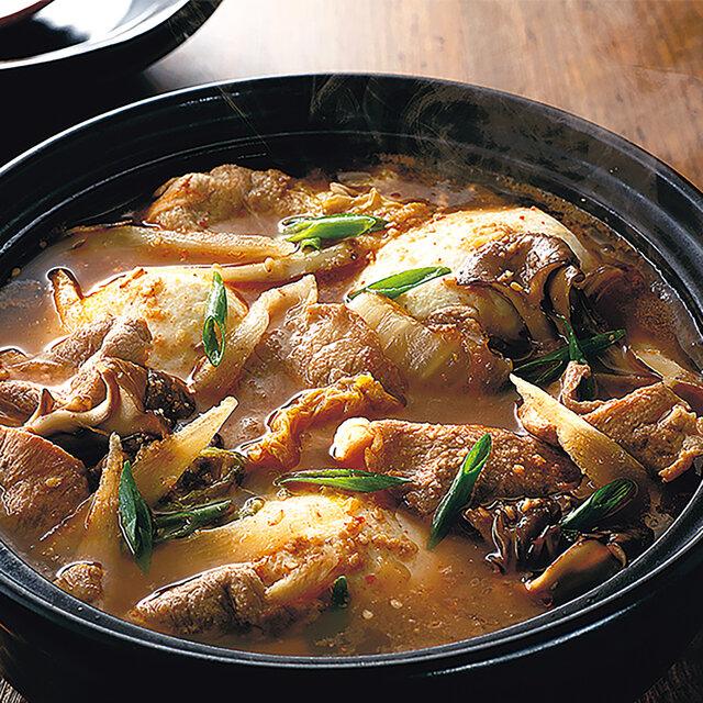 豚肉とやわらか豆腐のスンドゥブ