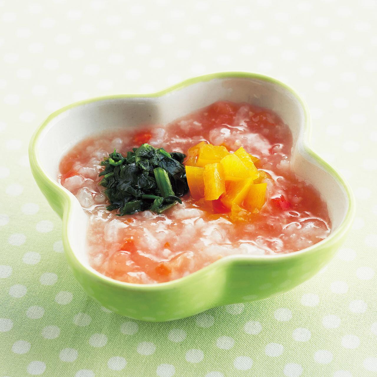 【かみかみ期】おかゆサラダ