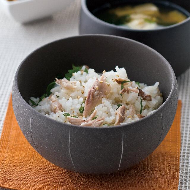 秋刀魚の混ぜごはん