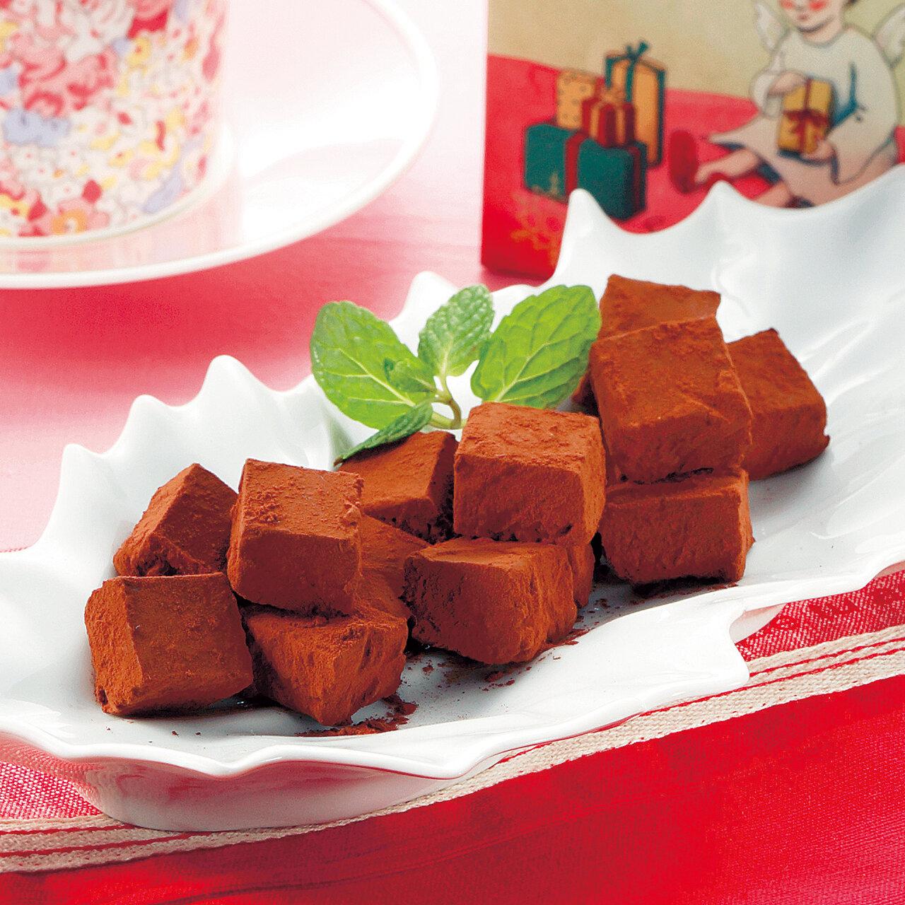 手作り生チョコレート