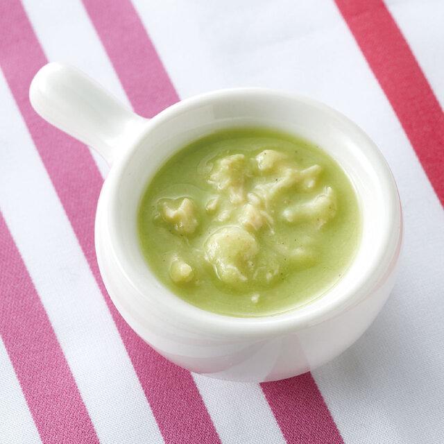 とりささみと枝豆スープ