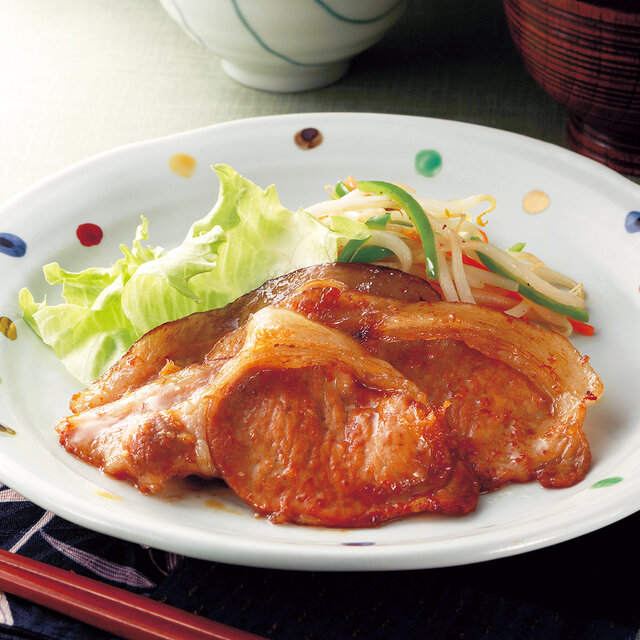 基本の生姜焼