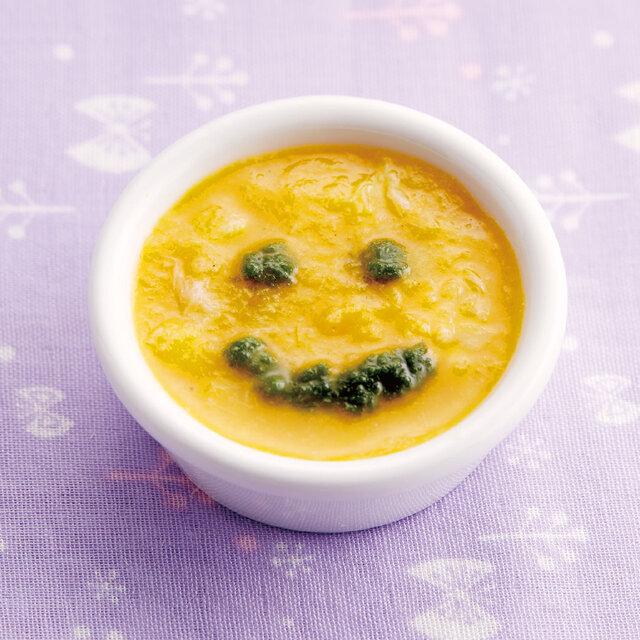 白身魚とかぼちゃのスープ