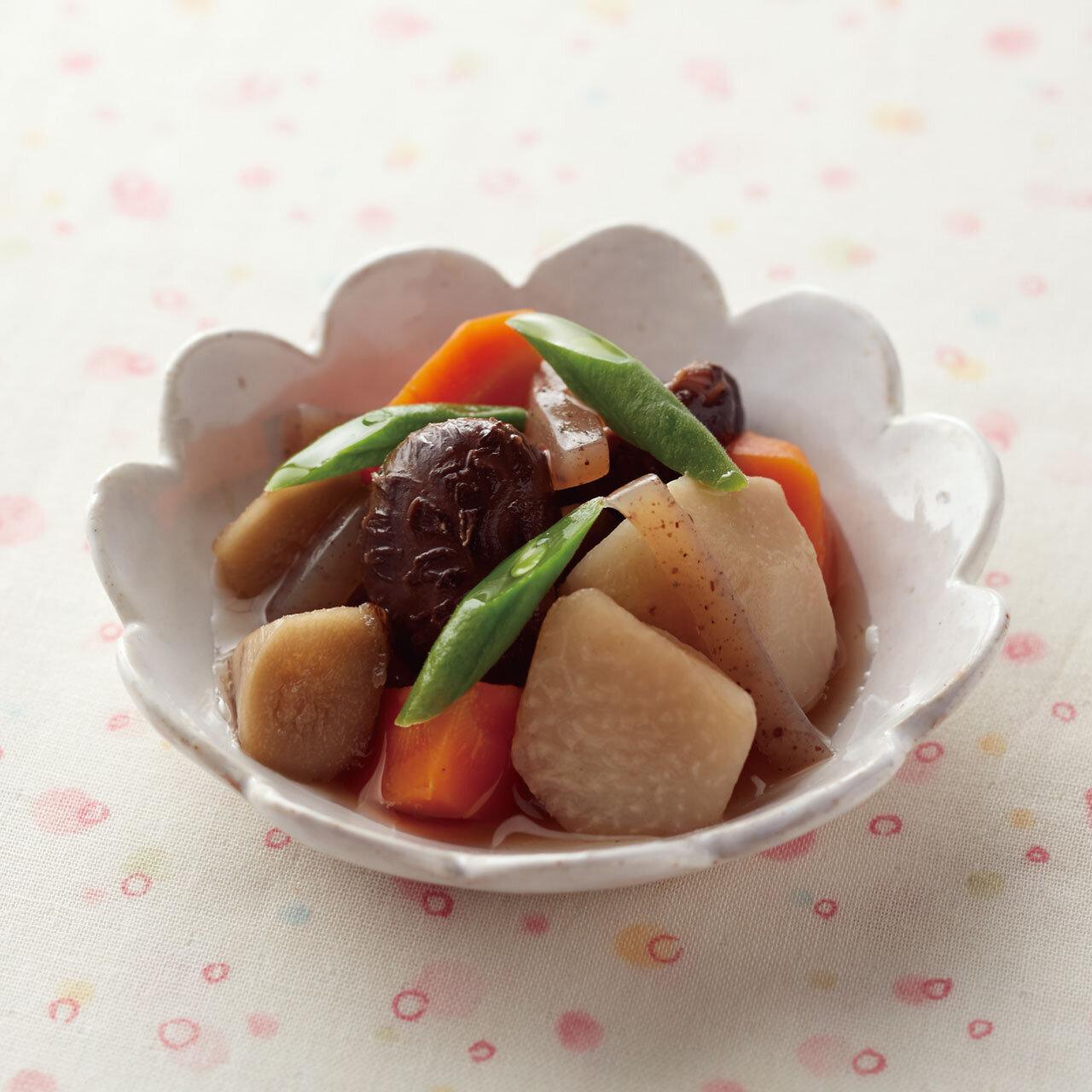 【アレルギー対応】根菜のコンソメ煮