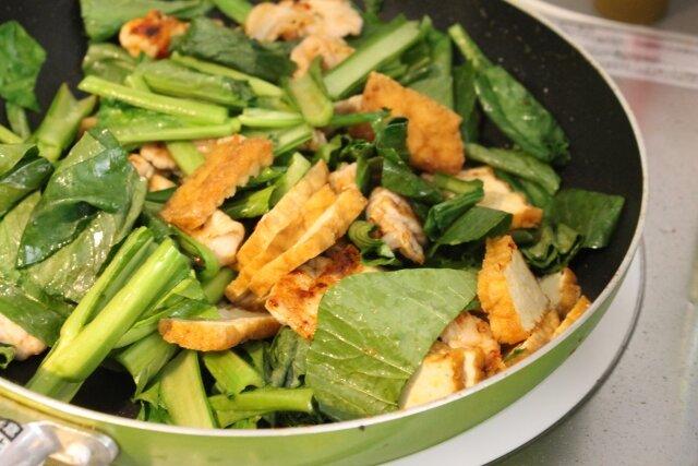 カルシウムと鉄分たっぷり!小松菜炒め