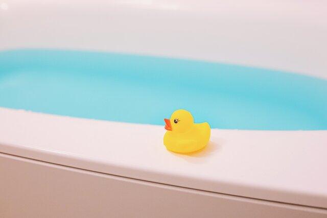 ジュニアアスリートの「入浴のコツ」