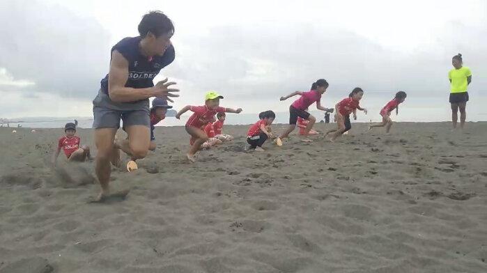 【ライフセービングチーム】日本トップクラスのコーチに学んでいます!