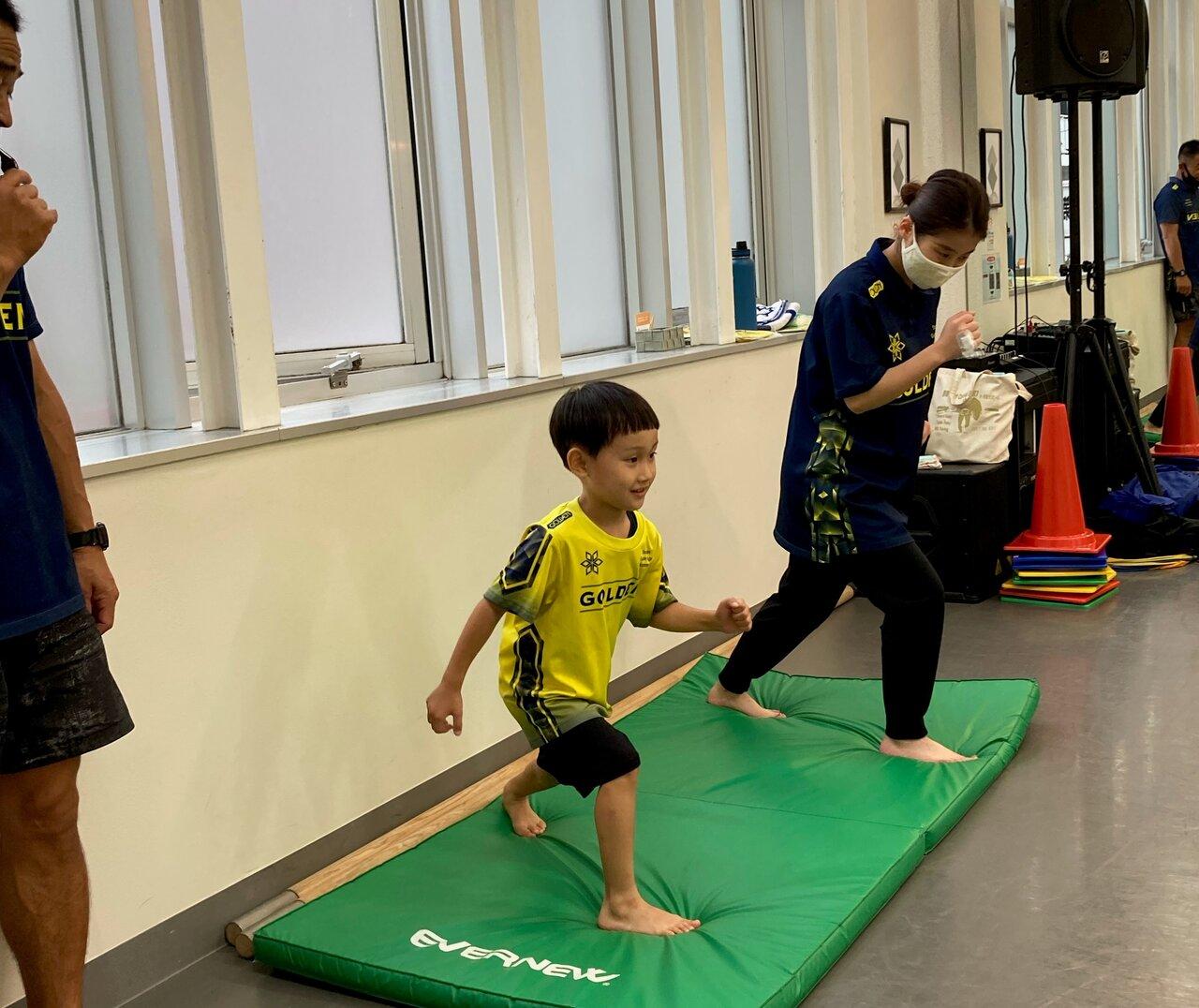 【運動教室】運動会も全力で頑張れるように!