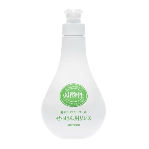 ミヨシ石鹸/弱酸性無添加せっけん用リンス