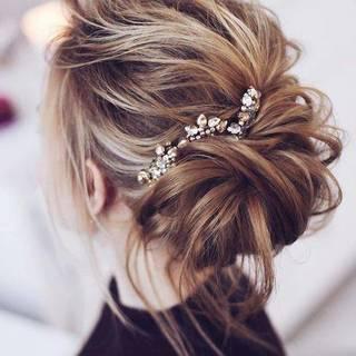 結婚式の【お呼ばれヘア】に♡自分で出来る【お呼ばれヘア】のセルフヘアアレンジ♡