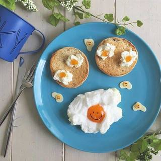 SNSで話題【エッグインクラウド】とは?おしゃれな卵料理エッグインクラウド♡