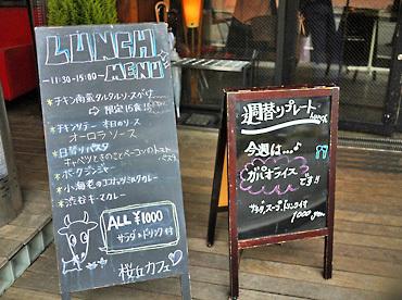 三毛猫ランチ2 : 桜丘カフェ(桜丘町) (1765)