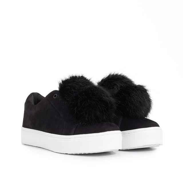 Leya Fur Sneaker - Sneakers | SamEdelman.com (3468)