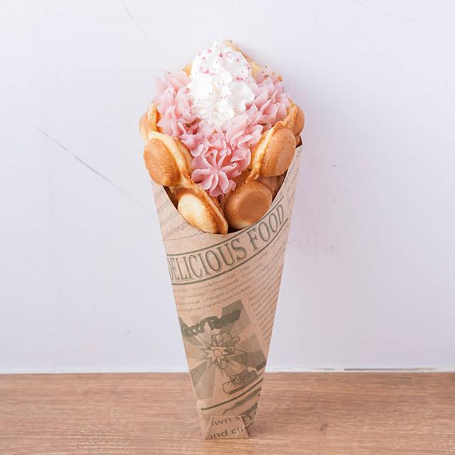 東京スカイツリータウンの桜スイーツ - 桜餡のソフトクリームやシュークリームなど春らしいピンク色 | ファッションプレス (13868)