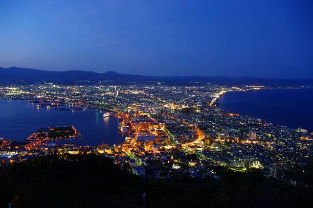 函館山からの夜景