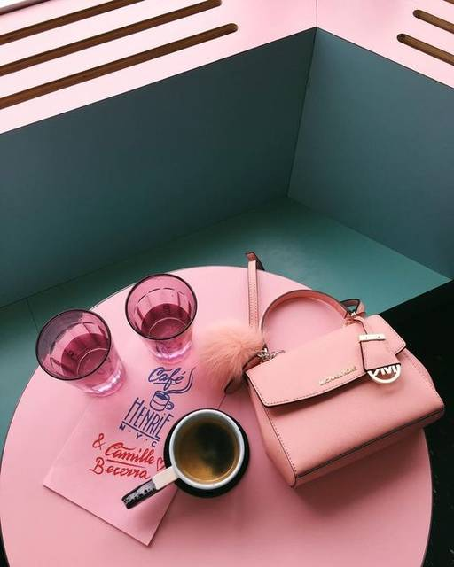 pink and mint | @bingbangnyc | Pink | Pinterest | コーヒー、ニューヨーク市、ミント (14403)