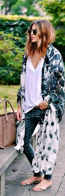 street style bohemian by Maja Wyh | Outfit | Pinterest | 着物、ボヘミアン、アプリ (18090)