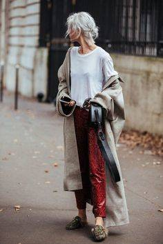 Seven Style Lessons From Paris Fashion Week | ズボン、スタイル、期末試験 (21264)