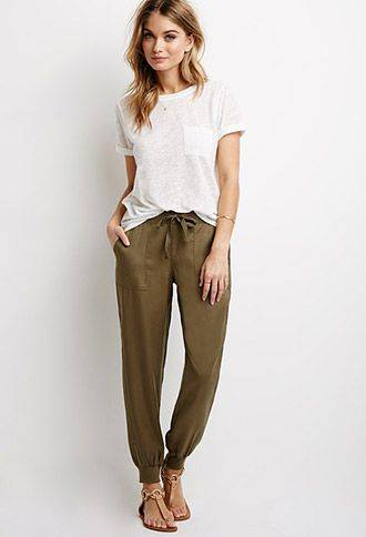 Pants | WOMEN | Forever 21 Pants like this style are similar to what women in India actually wear in their traditional salwar kameez outfits. Somet… | Pinteres… (21879)